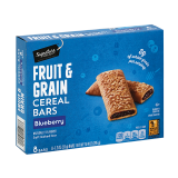 Signature Select Fruit & Grain Cereal Bars Blueberry - 295G