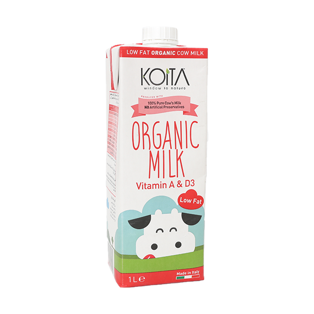 Organic Low Fat Milk - 1L