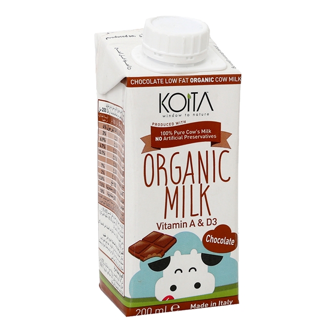 Organic Low Fat Chocolate Milk - 1L
