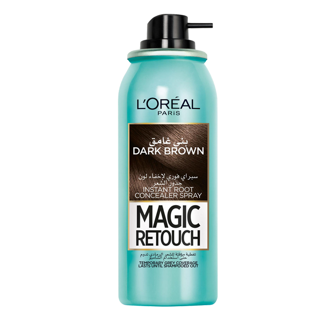 Magic Retouch Dark Brown Instant Root Concealer Spray - 1 count
