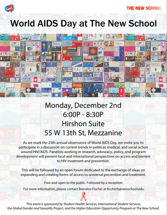 World AIDS Day at The New School