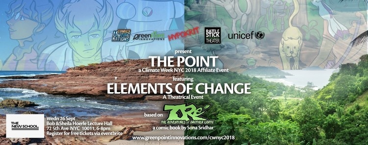 THE POINT: Elements of Change // a Theatrical Climate Week NYC Event!