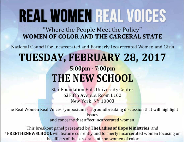 Real Women Real Voices: Where People Meet the Policy - Women of Color and the Carceral State
