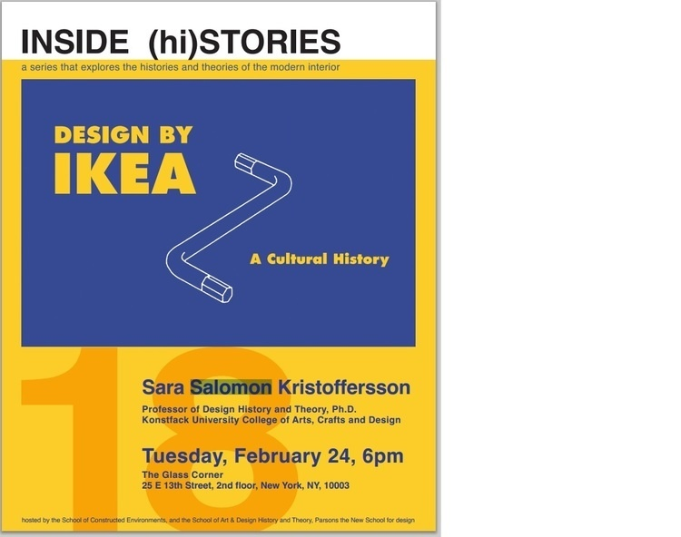 INSIDE (hi) STORIES Lecture Series: Design by IKEA