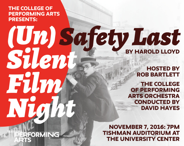UnSilent Film Night: Safety Last!