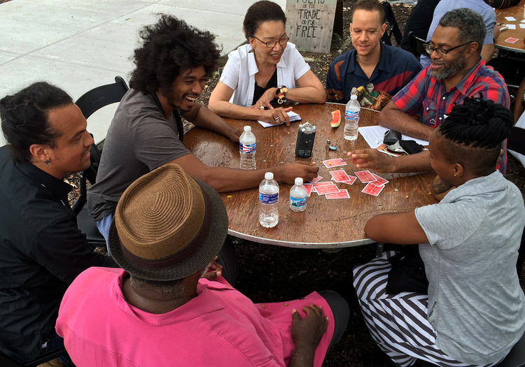 Black Lunch Table, Artists' Table