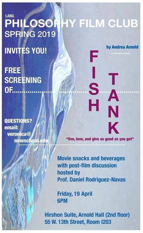"""Film screening, """"Fish Tank"""""""