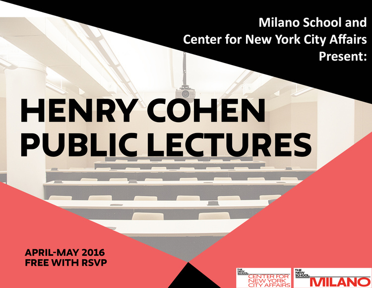 Henry Cohen Lecture Series