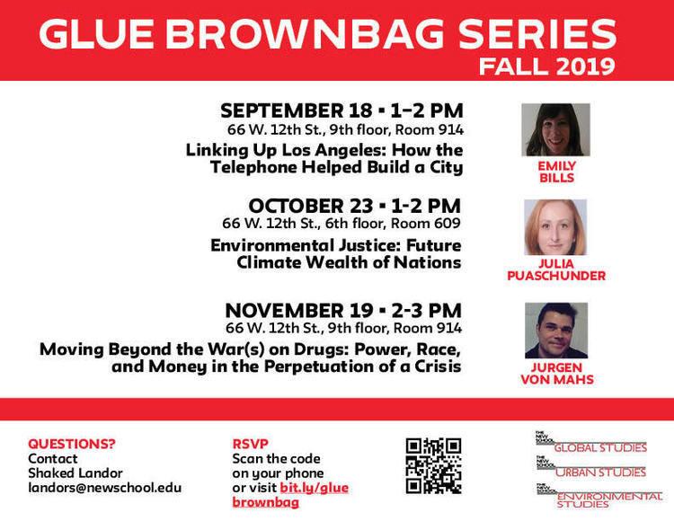 GLUE Brownbag Series with Julia Puaschunder