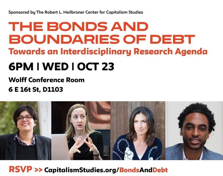 Bonds and Boundaries of Debt: Towards an Interdisciplinary Research Agenda