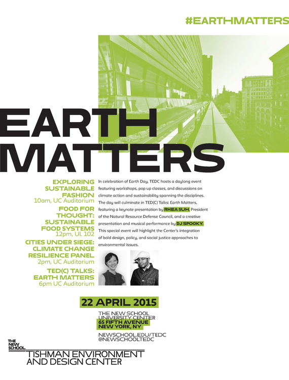 TEDC Earth Day Celebration - Earth Matters: Designing our Future