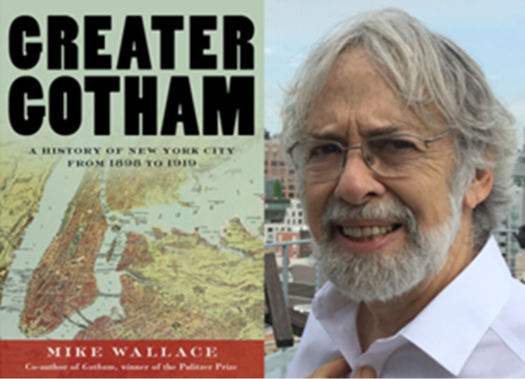 SOLD OUT - It Takes a Village: Greenwich Village a Hundred Years Ago with Mike Wallace