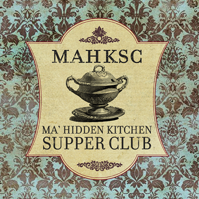Ma' Hidden Kitchen Supper Club logo