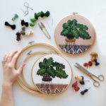 Sarah K Benning, Embroidery artist – Issue 9