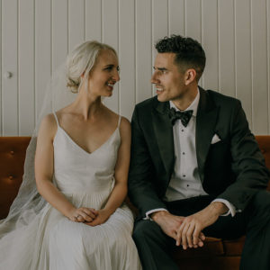 Real Wedding: Megan & Alex - Photography by Haley Guildford