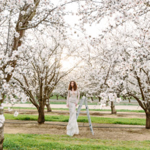 Almond Orchard styled shoot - Photography by Larissa Cleveland