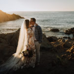 Real Wedding: Steph & Ben - Photography by Paris Hawken