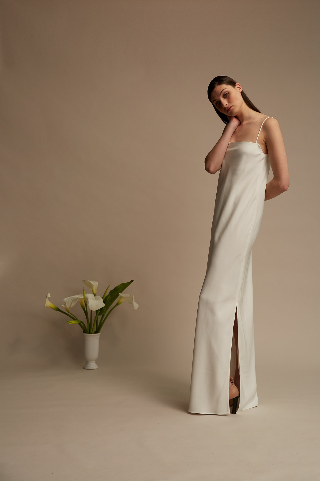 4a491bbc4372 We adore the sophisticated and sleek Neptune dress and we think the  Basswood Suit would be perfect for a registry office wedding or as  reception attire.