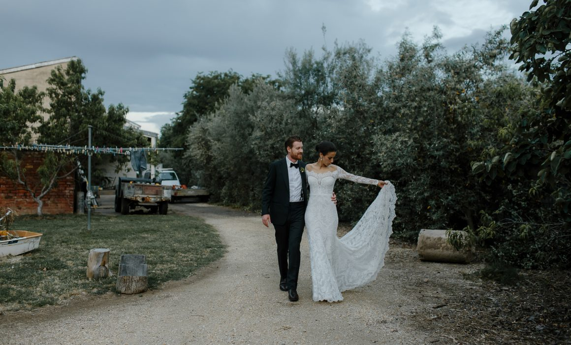 Iro and Alex wedding featured in Together Journal