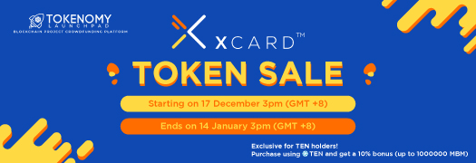 Introducing XCard, coming to you soon on Tokenomy Launchpad