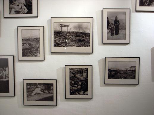 Yosuke Yamahata arrived in Nagasaki a few days after the bombing