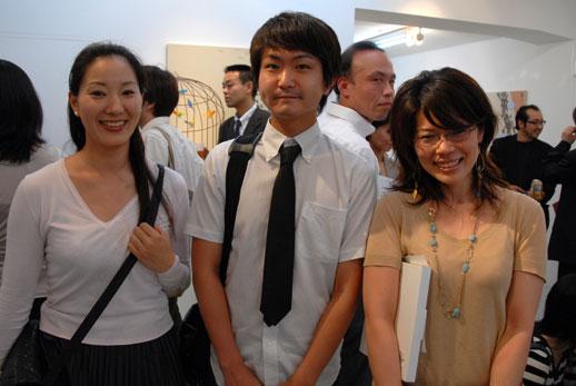 From the Art Fair Tokyo committee: Mai Takeshima, Shunsuke Miyakoshi and Mariko Takano