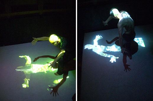 Dancer Ikko Suzuki performing in Joelle Bitton's work