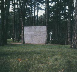榎倉康二 「壁」(1971年)