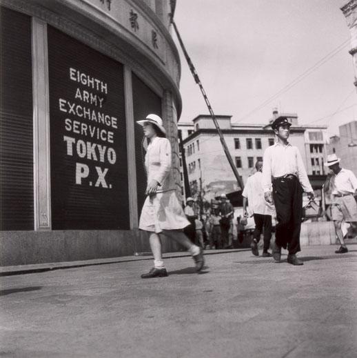 Tsuneko Sasamoto, 'Ginza 4 Cho-me P.X.' (1946)