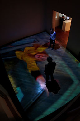 Pipilotti Rist, 'À la belle étoile' ('Under The Sky'), 2007, audio video installation (installation view at the Hara Museum of Contemporary Art, Tokyo)