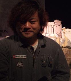 プロのレゴモデルビルダー、直江和由氏。なんてカッコいい肩書き!うらやましい!