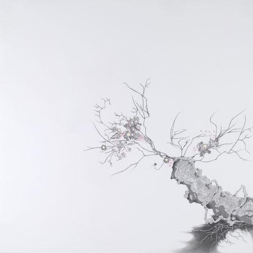 Hiroe Saeki, 'Untitled' (2006) pencil and acrylic on paper
