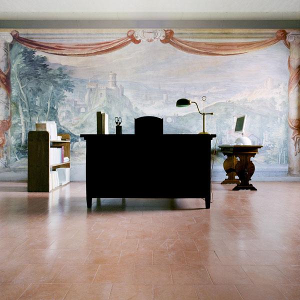 Matthias Shaller, 'Vatican Secret Archives, Purple Desks' (2004-2007) Photograph