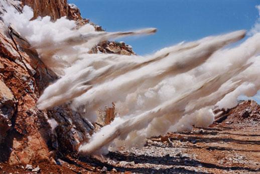 Naoya Hatakeyama, 'Blast' (1995) C-print, mounted on aluminum, 100 x 150cm