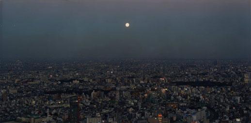 Naoya Hatakeyama, 'Untitled / Moon' (1999) C-print, 89 x 180 cm