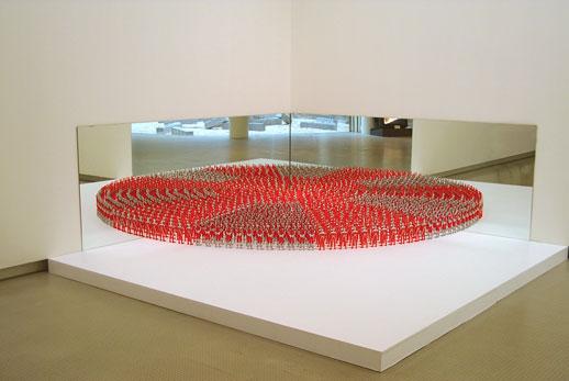 Yukinori Yanagi, 'Banzai Corner' (1991) Plastic toys, mirrors, 90cm x 240cm x 240cm