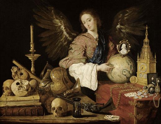 Antonio de Pereda y Salgado, 'Allegory of Vanity' (c.1634) Oil on canvas, 139.5 x 174cm
