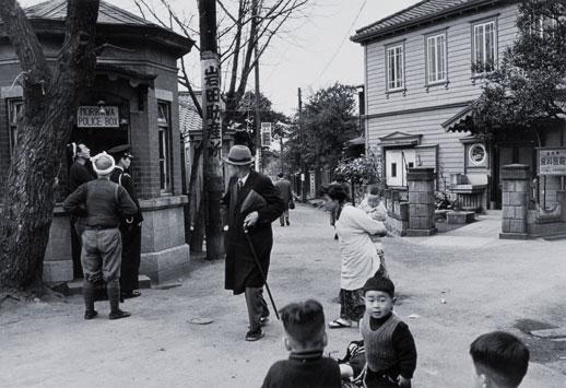 Ihee Kimura, 'Morikawa-cho, Hongo' (1953)