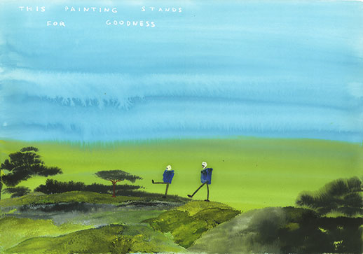 John Lurie, 'This Painting Stands For Goodness' (2007)