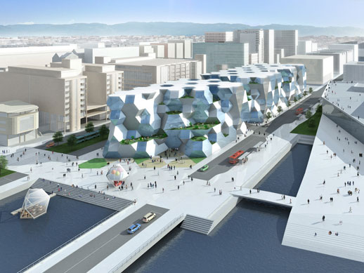 Toyo Ito, 'The New Deichman Main Library Competition in Oslo, Norway' (2008-2009)