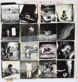 Kiyoshi Suzuki, Collage from the series 'Mind Games' (c.1982)
