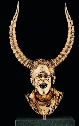 Jan Fabre, 'Chapter XV' (bronze) (2010)