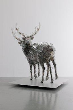 Kohei Nawa, 'PixCell-Double Deer#4' (2010)