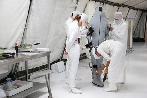 Jean Michel Bruyère / LFKs, 'Le Préau d'un Seul' at Nishi-Sugamo Arts Factory (Festival/Tokyo 2012)
