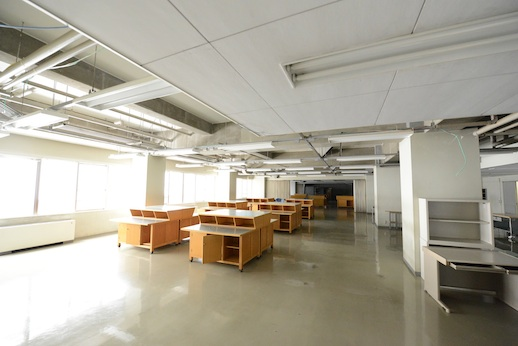 The former Tokyo Denki University building