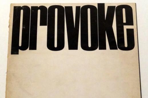 Cover of Provoke Magazine.