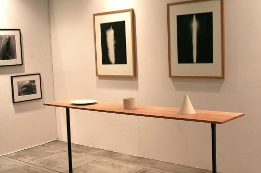Hiroshi Sugimoto, 'In Praise of Shadows' and Taizo Kuroda, 'Disc Cyclinder Vase' at Hiromiyoshii