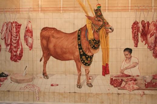 Agus Suwage, 'Jawara Lokal #2' at Roh Gallery