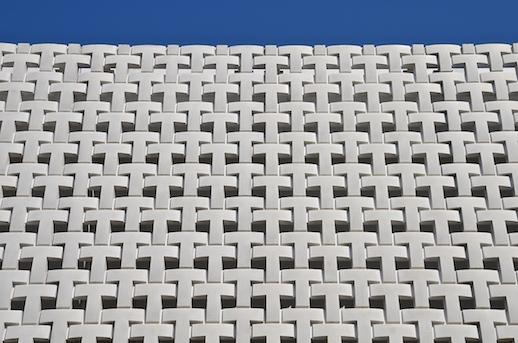 Klein Dytham Architecture, T-Site, Tsutaya Books, Daikanyama (2012). Detail view.
