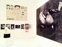 Tatsumi Hijikata exhibit installation view